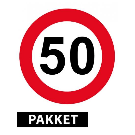 50 jaar getrouwd versiering pakket FopartikelenWinkel
