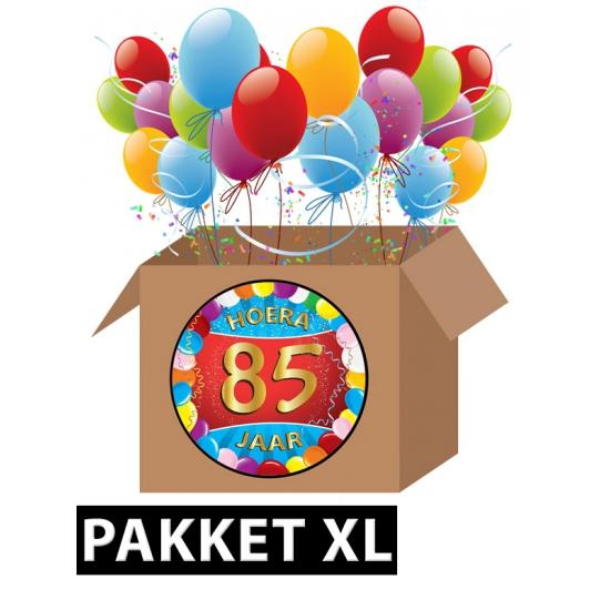 85 jaar feest versiering voordeelbox XL