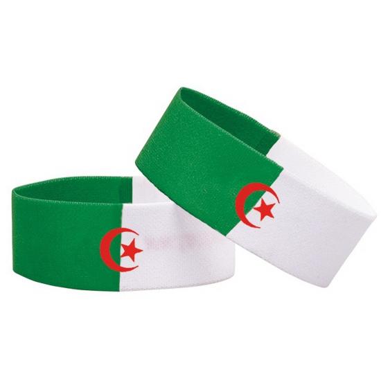 Algerije fan armbandje