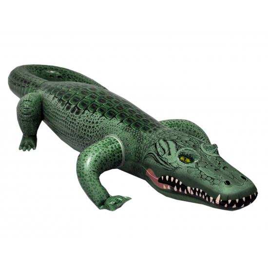 Alligator krokodil opblaasbaar 157 cm
