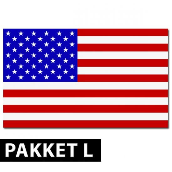 Amerikaanse decoratie pakket groot FopartikelenWinkel