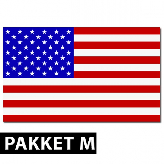 Amerikaanse decoratie pakket middel