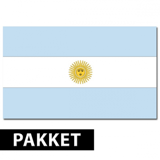 Argentinie thema pakket