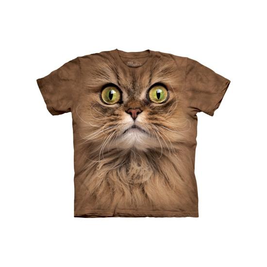 Bruin katten shirt The Mountain volwassenen