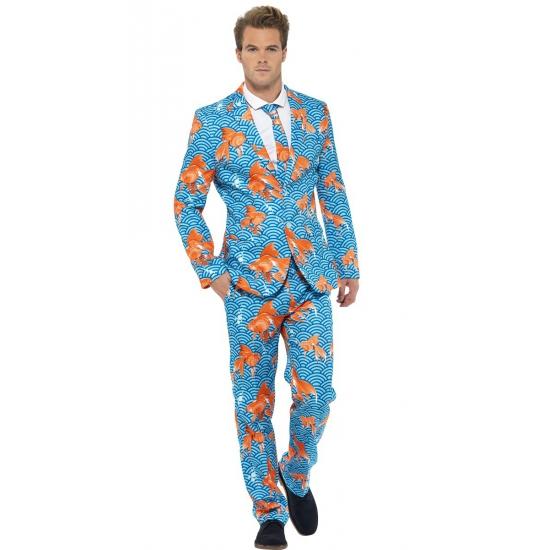 Carnavalskleding heren kostuum goudvissen Smiffy
