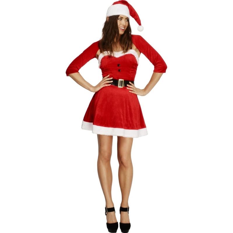Compleet kerst jurkje met bolero