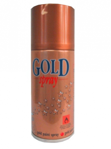 Decoratie verfspray goud 150 ml