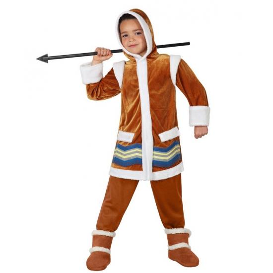 Eskimo verkleedkleding voor inderen FopartikelenWinkel