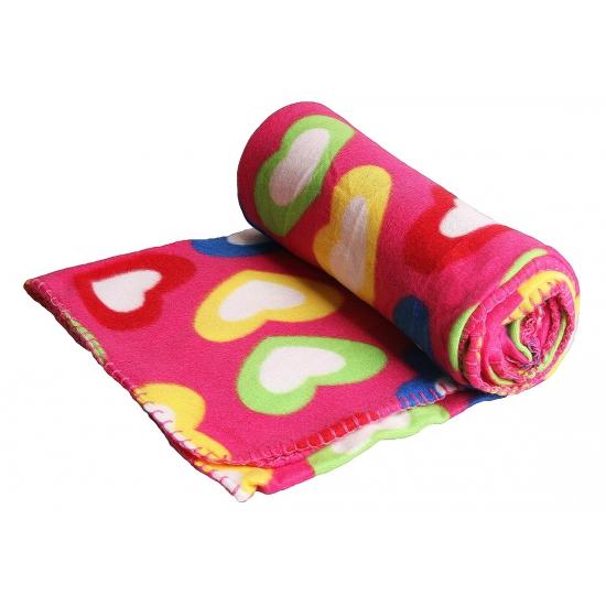 Fleece deken meisjes kamer