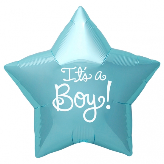 Folie ballon Its a Boy ster