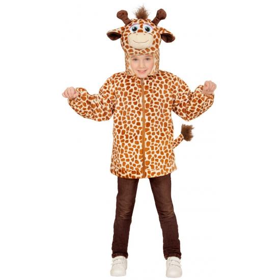 Giraffe kinder hoodie met capuchon
