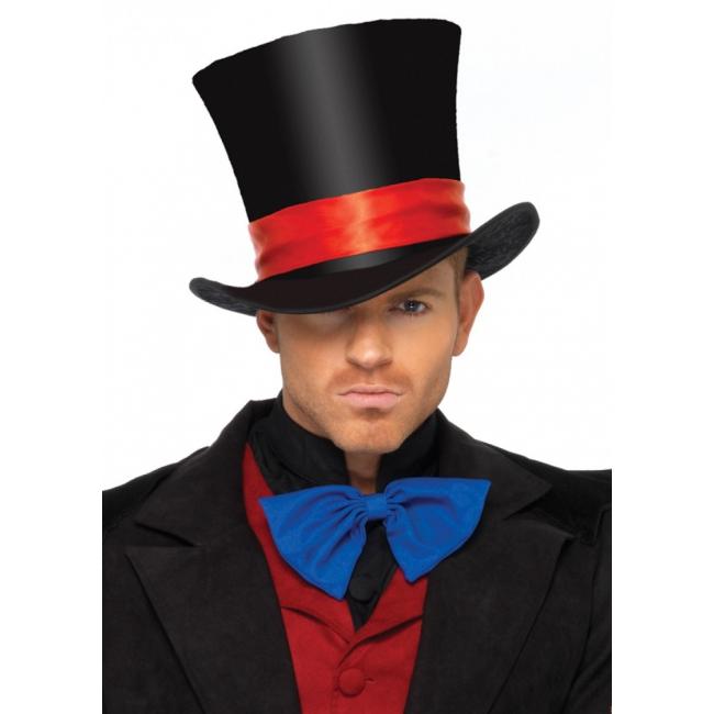 Grote hoge hoed deluxe Leg Avenue