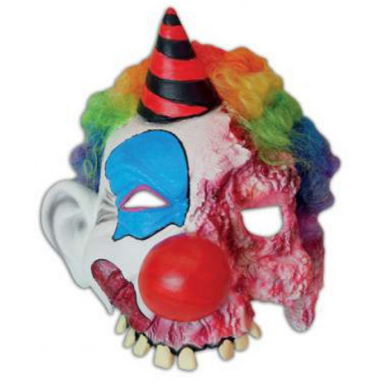 Halloween feest masker enge clown