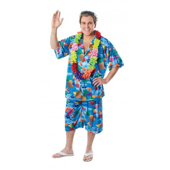 Hawaii blouse en shorts voor heren FopartikelenWinkel