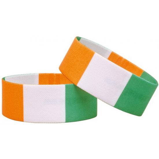 Ivoorkust fan armbandje