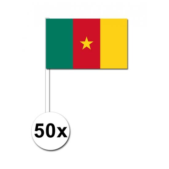 Kameroen zwaai vlaggetjes 50 stuks