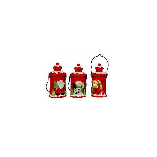 Kerst decoratie kerst beer lantaarn