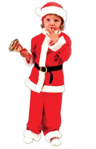 Feestartikelen kerstkleding kinderen overzicht