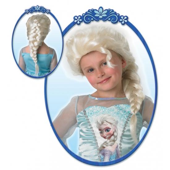 Kinderpruik Elsa uit Frozen (bron: Fopartikelenwinkel)