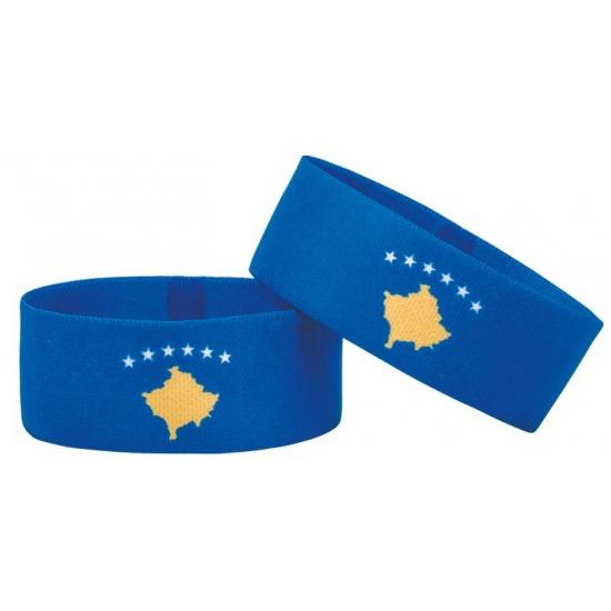 Kosovo fan armbandje