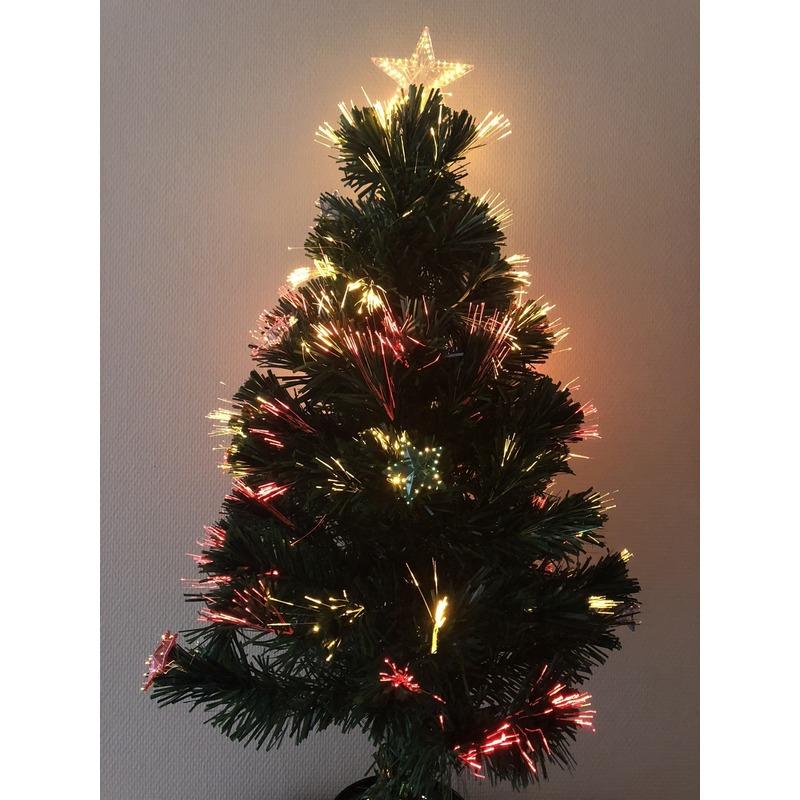 Kunst kerstboom met versiering 90 cm (bron: Fopartikelenwinkel)