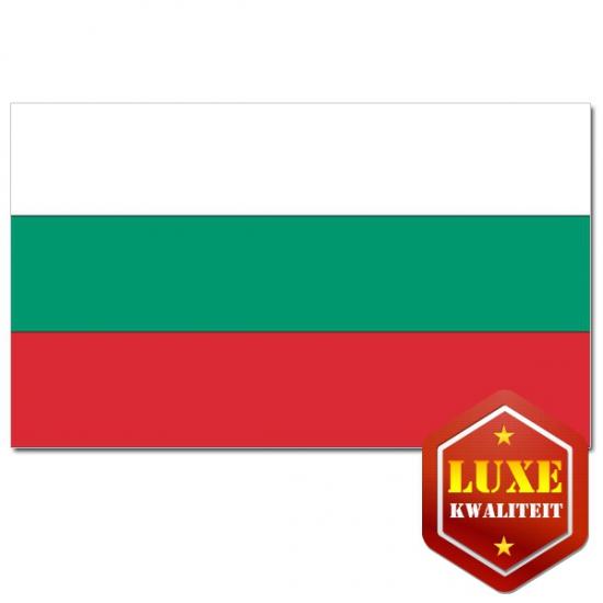 Landen vlag van Bulgarije