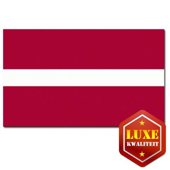 Landen vlag van Letland