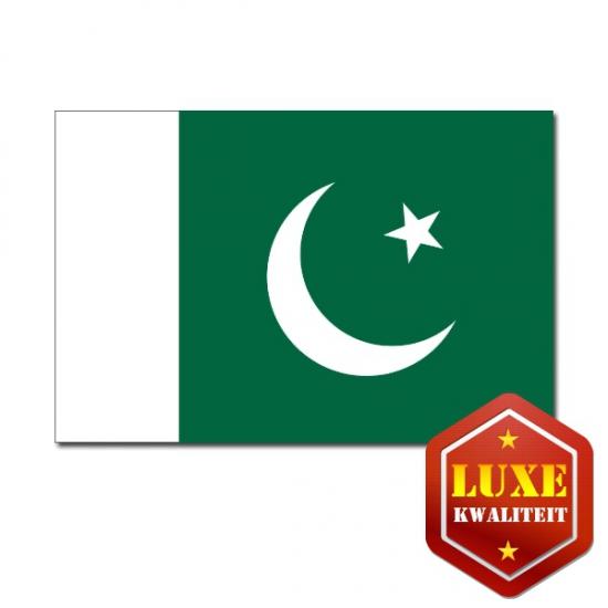 Landen vlag van Pakistan