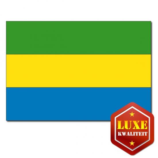 Landen vlaggen van Gabon