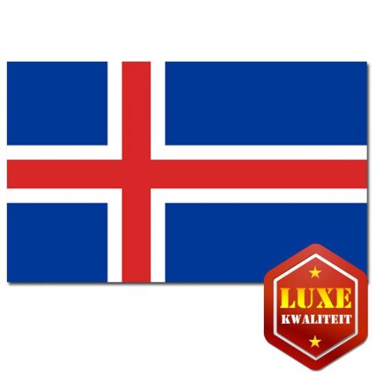 Landen vlaggen van IJsland