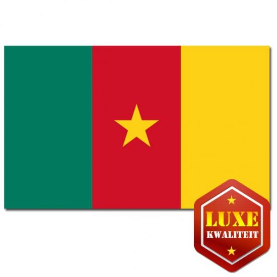 Landen vlaggen van Kameroen