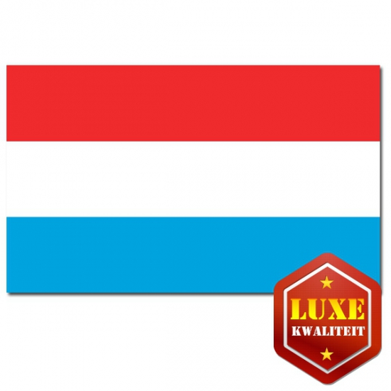 Landen vlaggen van Luxemburg