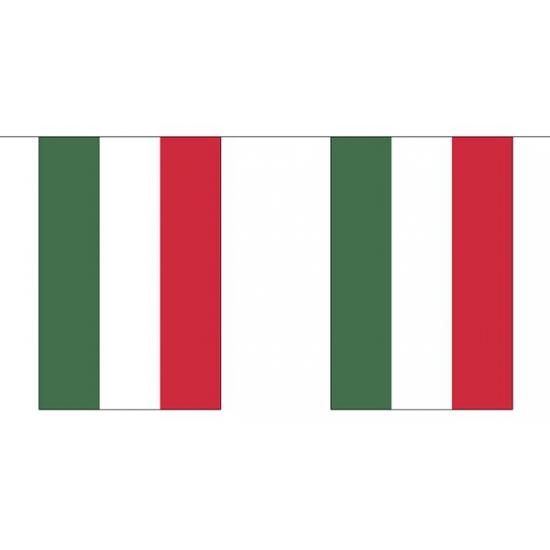 Luxe Hongarije vlaggenlijn 3 meter