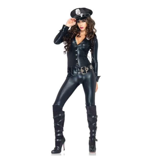 Officer Payne jumpsuit voor dames Leg Avenue