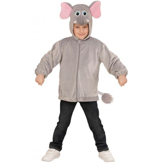 Olifanten kinder hoodie met capuchon
