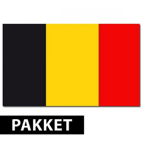 Pakket Belgie feestartikelen