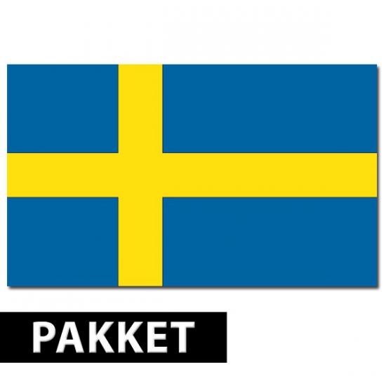 Pakket Zweden feestartikelen