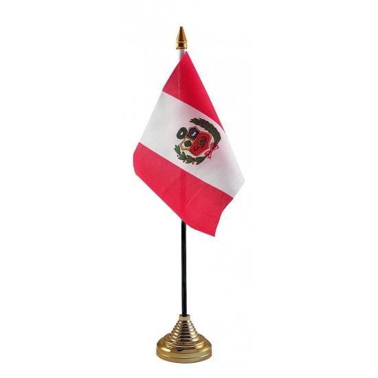 Peru vlaggetje voor op tafel   N u00da   u20ac 2,75
