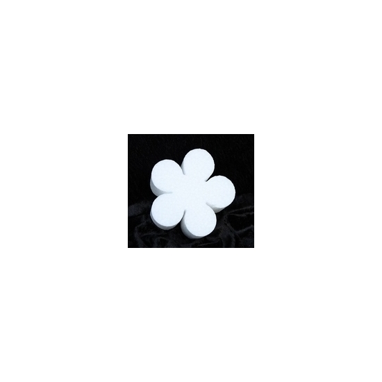Piepschuim lente bloemen 30 cm