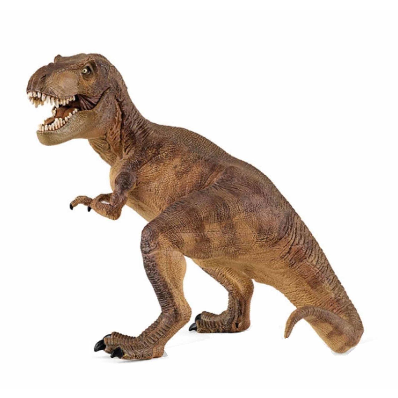Plastic t-rex dinosaurus 17 cm Papo