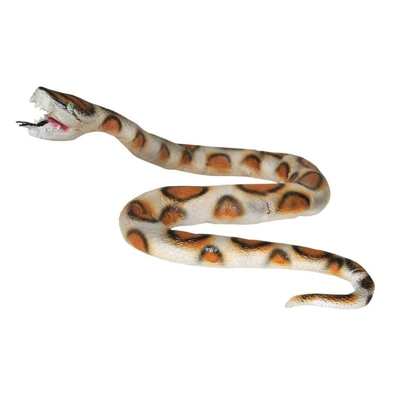 Python slang nep van plastic 160 cm