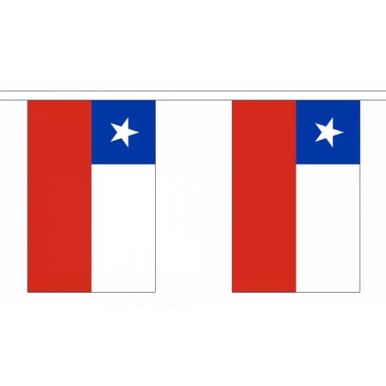 Rechthoekige Chili vlaggenlijn