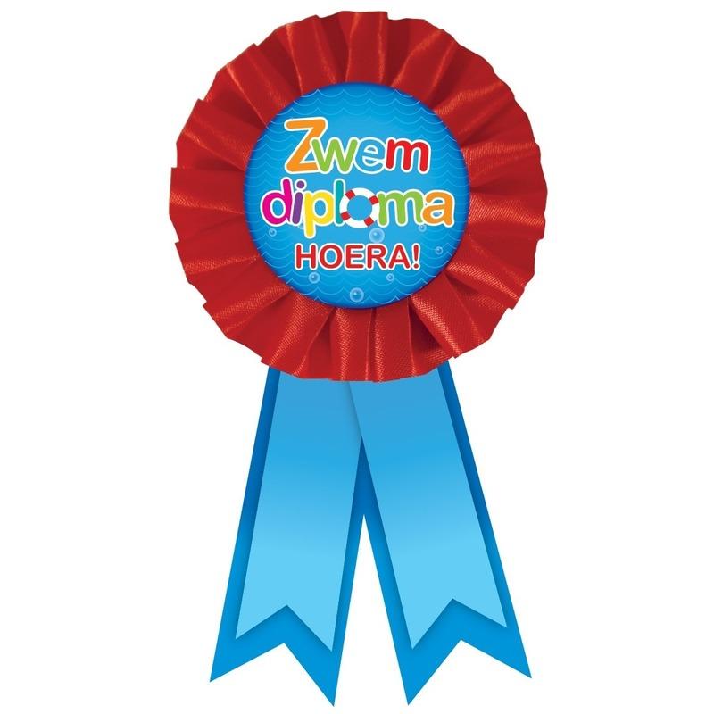 Rozet diploma voor zwemmen