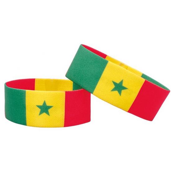 Senegal fan armbandje