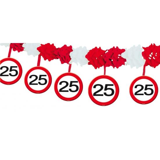 Slinger verkeersbord 25 jaar