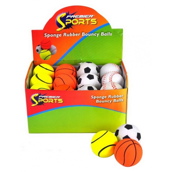 Tennisbal vorm stuiterbal