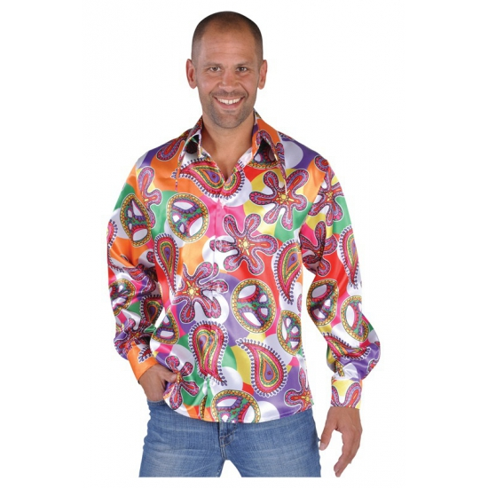 Verkleedkleding hippie shirts Fun