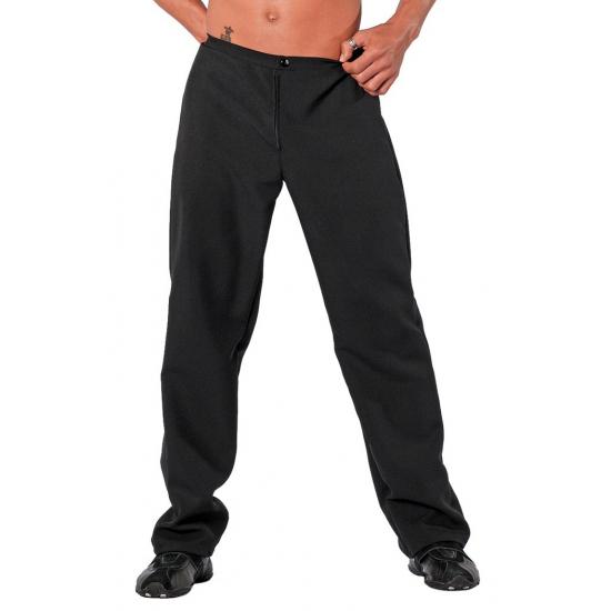 Verkleedkleding zwarte broek