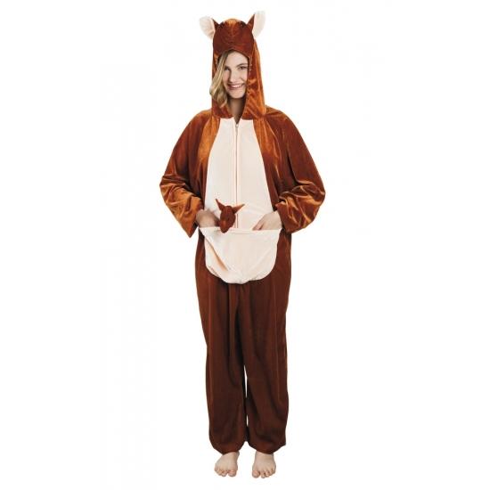 Verkleedpak kangoeroe voor dames