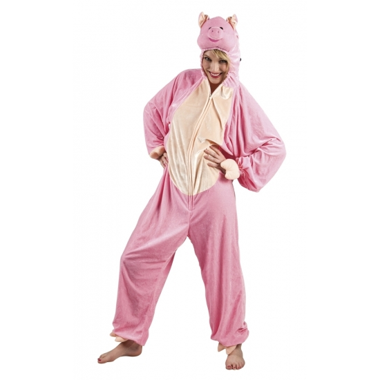 Verkleedpak varken voor dames